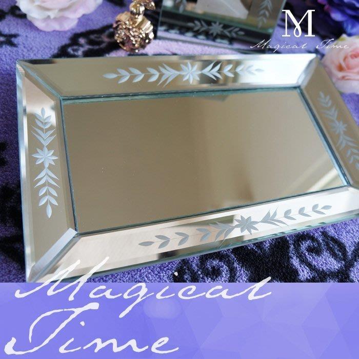 【∮魔法時光∮】CLARINS克蘭詩 威尼斯玻璃鏡面托盤/擺盤/糖果盤(入店招待) 三個