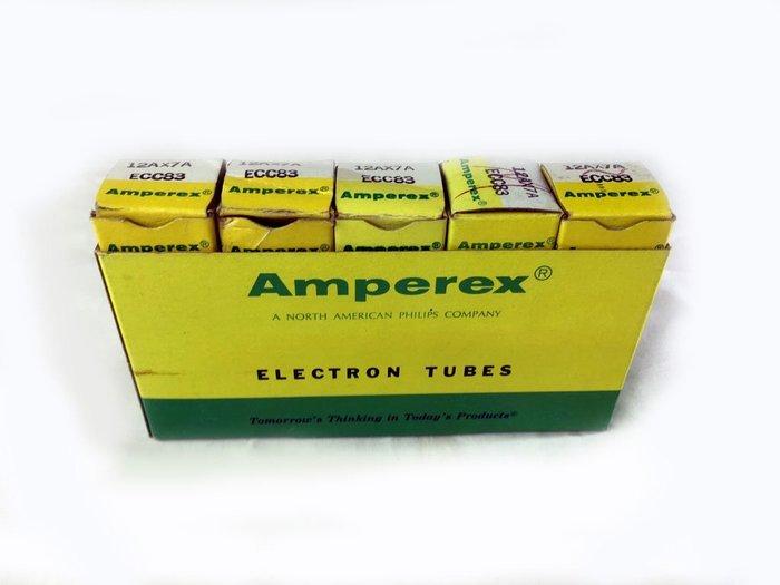 真空管12AX7 ECC83 AMPEREX holland製造 訊號管一標1支