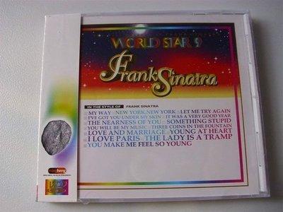 教唱VCD正版西洋巨星9 法蘭克辛納屈專輯My Way .New York Somethin' Stupid 盈字櫃8