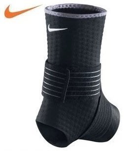 耐吉 NIKE PRO自黏式 健身運動慢跑 防扭傷 復健 護腳踝 護具~下殺便宜賣喬丹Jordan路跑籃球羽毛球護踝網球