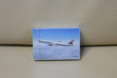 華航 中華航空 CHINA AIRLINES 紀念 撲克牌 普克牌 遊戲 飛機款 777-300ER 收集 收藏 未拆封