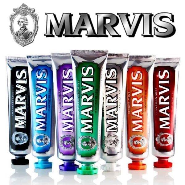 *微風小舖*新包裝 85ml 義大利 MARVIS 薄荷牙膏 多款可選 牙膏界的愛瑪仕 ~可超取付款 可刷卡