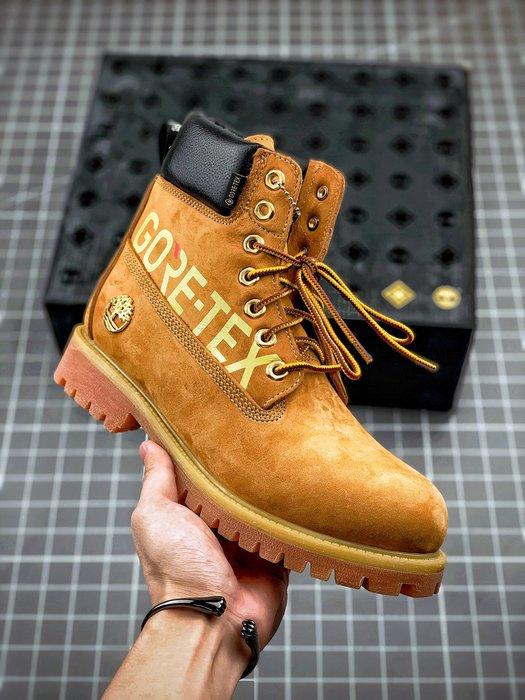 正品Timberland GORE-TEX聯名款防水鞋休閒工裝靴馬丁靴P106032 39-44碼(偏大一碼)