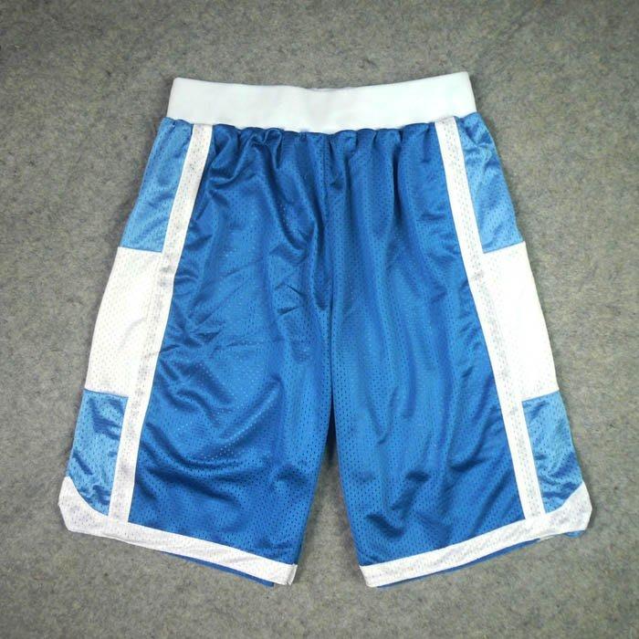 SD灌籃高手隊服陵南仙道彰網眼刺繡籃球服配套運動短褲籃球褲藍色