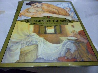 買滿500免運/崇倫《繪本莎士比亞英文版  THE TAMING OF THE SHREW》31×22.8cm /精裝/