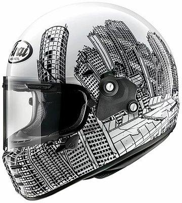 鼎鴻》ARAI RAPIDE-NEO ROARS全罩式安全帽彩繪版 2020年