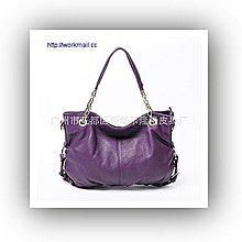 yes99buy加盟-米茜琳新款正品歐美復古OL英倫真皮牛皮女包單肩包特價手提大包