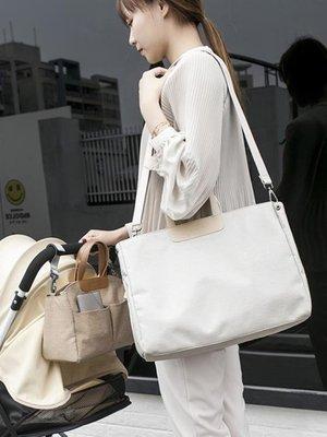 【蘑菇小隊】手提媽咪包多功能大容量奶瓶母嬰包推車外出掛包單肩女斜挎旅行包-MG32247