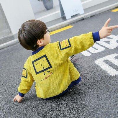 寶寶外套男春秋裝小童洋氣正韓潮兒童秋季1 34歲男童上衣