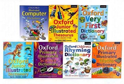 牛津詞典Oxford Very First Dictionary Oxford Junior Illustrated7冊