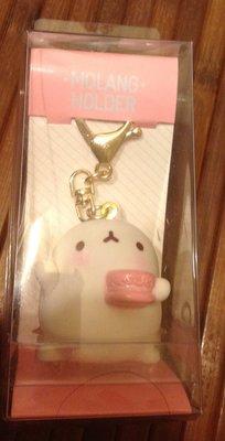 全新韓劇--紳士的品 張東健 金荷娜 Molang 兔寶寶 娃娃 鑰匙圈