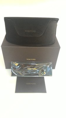 TOM FORD 眼鏡 墨鏡盒(附眼鏡布、保卡、原廠提袋)