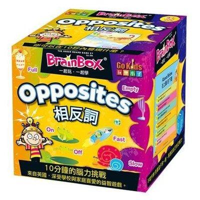 大腦益智盒 相反詞 BrainBox Opposite 繁體中文版 高雄龐奇桌遊