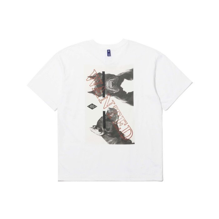 ☆AirRoom☆【現貨】2019SS MADNESS MDNS WANTED PRINT TEE 余文樂 短TEE