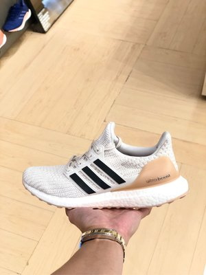 【Cheers】 Adidas Ultra Boost 4.0 女鞋 BB6492 白藍 白色 裸色 編織 慢跑鞋 台北市