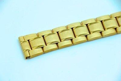 18mm 20mm金色~sea master 海馬風格不鏽鋼錶帶,非烤漆,seiko, citizen, nixon