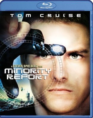 BD 全新美版【關鍵報告】【Minority Report】Blu-ray 藍光 湯姆克魯斯