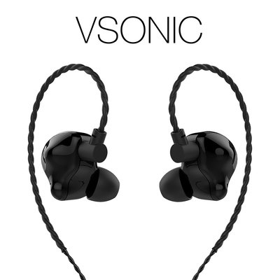 【音樂趨勢】VSONIC VS3 耳道式耳機 騎士黑
