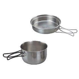 【推薦+】不鏽鋼個人餐具P049-7181調理鍋.煎鍋煎盤.餐具爐具炊具.露營戶外登山野炊休閒
