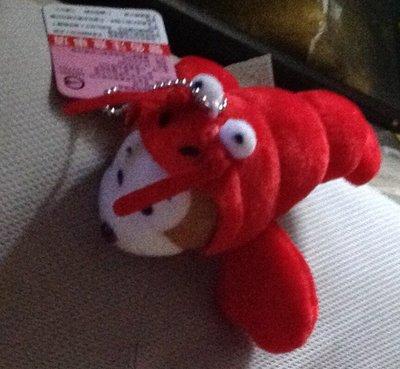 全新猴子變裝紅蝦吊飾