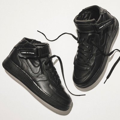 R' Comme Des Garcons CDG Nike Cut Off Air Force 1 DC3601-001