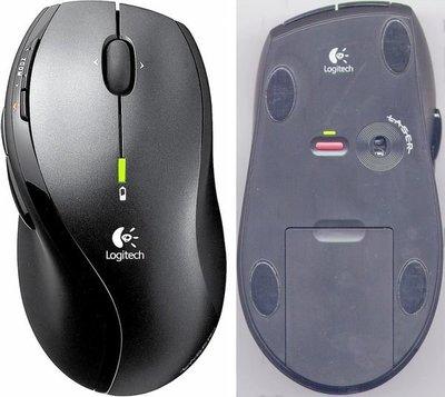 知名品牌 羅技Logitech M-RAZ-105光學無線滑鼠(附接收器),簡易包裝,近全新