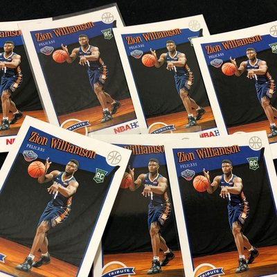 NBA Zion Williamson 2019-20 Hoops Rc tribute 怪物狀元 威廉森 新人卡 一張一張賣
