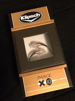 ※台北快貨※原裝正貨 Klipsch 古力奇 Image X10 最佳耳道式耳機(也有X10i,S3.S4A.S5i.X7i)