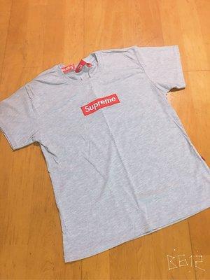 《全新》現貨 supreme champion 造型 圓領短袖上衣 SML適穿 - 白色/ 灰色L 台中市