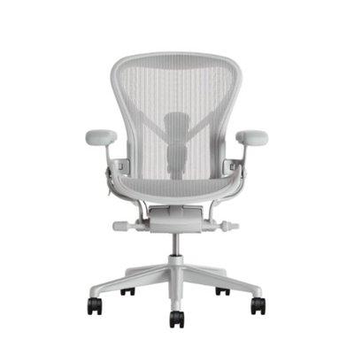 //白色尼龍尾款賣場// 全新正品 Herman Miller 2.0 Aeron 全功能版 人體工學 辦公電腦椅
