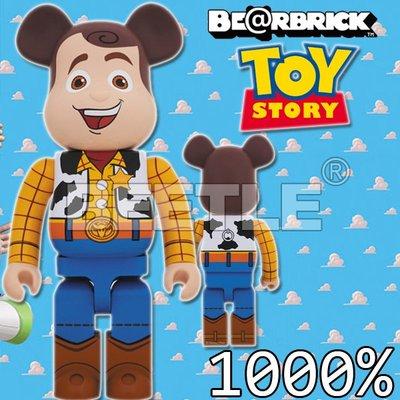 BEETLE BE@RBRICK DISNEY 迪士尼 玩具總動員 TOY STORY 胡迪 WOODY 1000%