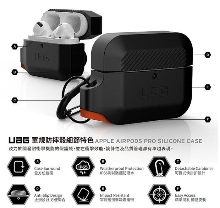 台灣公司貨 美國 UAG AirPods Pro 耐衝擊 保護殼 蘋果耳機 保護套 防震 防塵 防潑水 現貨
