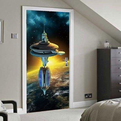 暖暖本舖 太空站宇宙船 整人樓梯貼 創...