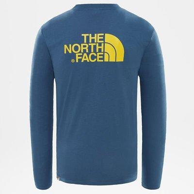[全新]The North Face Easy Long-Sleeves Shirt Blue 長袖T恤 新北市