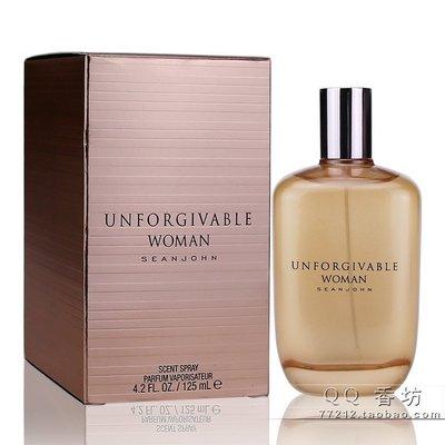 LILI商貿 Sean John 吹牛老爹Unforgivable不可饒恕原諒女士男士香水75ML