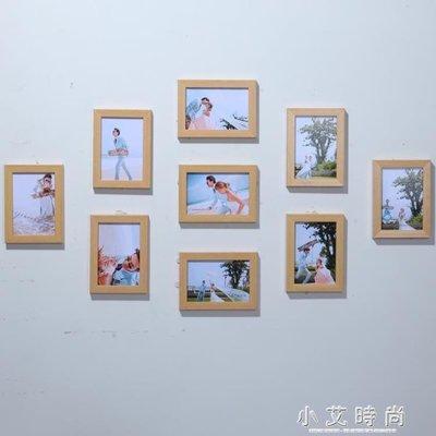 客廳九宮格全5寸相框掛牆創意組合 臥室畫框相片牆照片牆裝飾 NMS 全館免運 全館免運