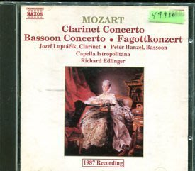 *還有唱片行* MOZART / CLARINET & BASSOON CONCERTOS 二手 Y7910
