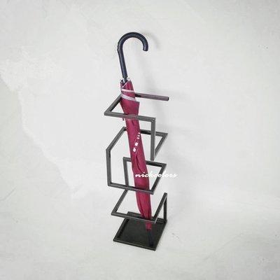 尼克卡樂斯~工業風鐵製雨傘架 傘桶 小...