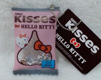 日本三麗鷗限定HELLO KITTY&HERSHEY'S Kisses巧克力聯名吊飾