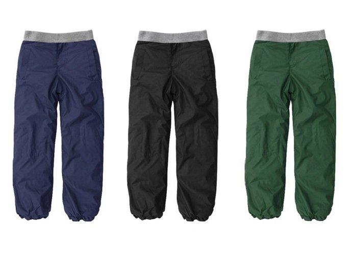 兒童防風棉褲男童加絨加厚保暖長褲防水滑雪褲 保暖棉褲 滑雪褲
