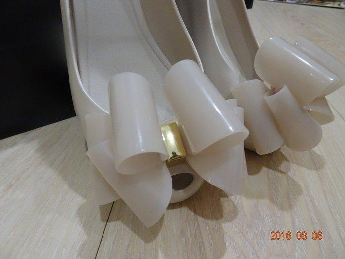 巴西知名品牌 melissa 泡泡糖香氛 立體蝴蝶平底鞋(全新)