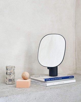 @遇見化妝鏡-北歐風格丹麥臺鏡MUUTO MIMIC MIRROR 化妝鏡梳妝鏡桌面鏡子臺式