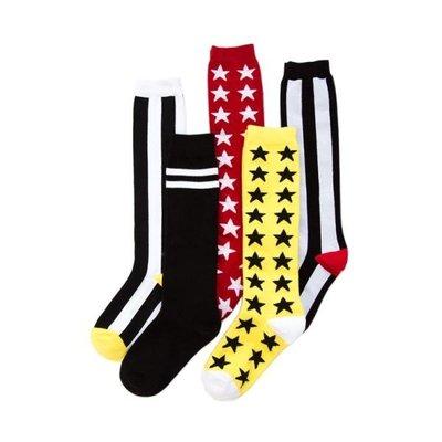 春季上新 春季潮牌及膝襪女日系韓版長筒襪明星同款中筒襪街頭百搭高筒長襪