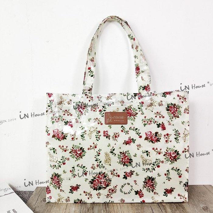 IN House* 日本 雜誌附錄 Peter Rabbit 彼得兔 防水 購物袋 可愛 手提包 手提袋 雜物袋 現貨