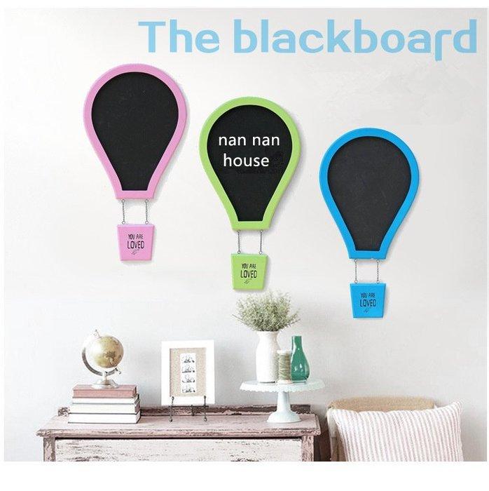 彩色氣球造型黑板