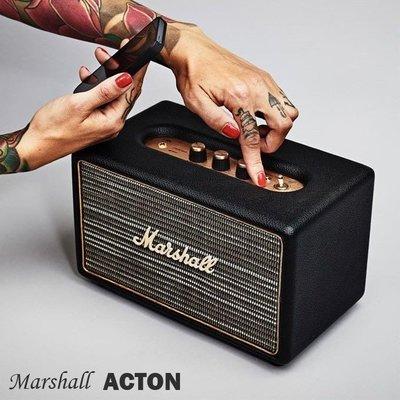 100%正品 經典搖滾 行動音響  Marshall Acoustic M-ACCS-10126 acton 藍牙喇叭 黑色 預購 台北市