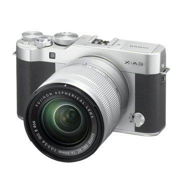 《晶準數位》全配套組 富士 FUJIFILM X-A3 +16-50mm 平輸貨銀黑色