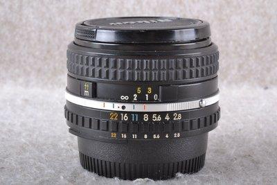 【品光攝影】NIKON AIS 28mm F2.8 手動對焦 老鏡 廣角 FG#55530