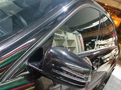 M~Benz E~Class Sedan 窗框貼膜 鍍烙貼膜 水切貼膜 w212 w213 E200 E300