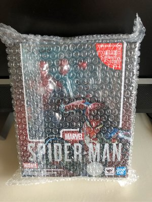 全新日版 S.H.Figuarts SHF Avengers 復仇者 PS4 Marvel's Spider-Man Advance Suit 蜘蛛俠連初回特典